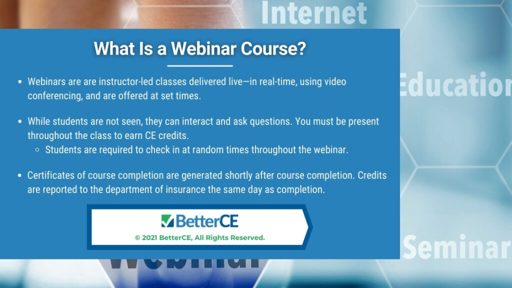Callout2- online education digital interface background-What Is a Webinar Course?- 3 bullet points